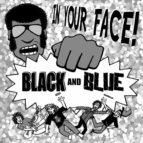 Black Elvis/Soilent Blue CD cover
